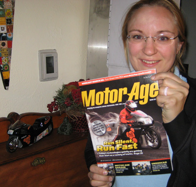 Eva and Motor Age