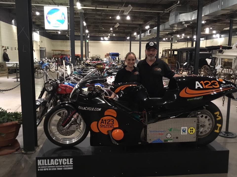 KillaCycle | The World's Quickest Electric Motorcycle!